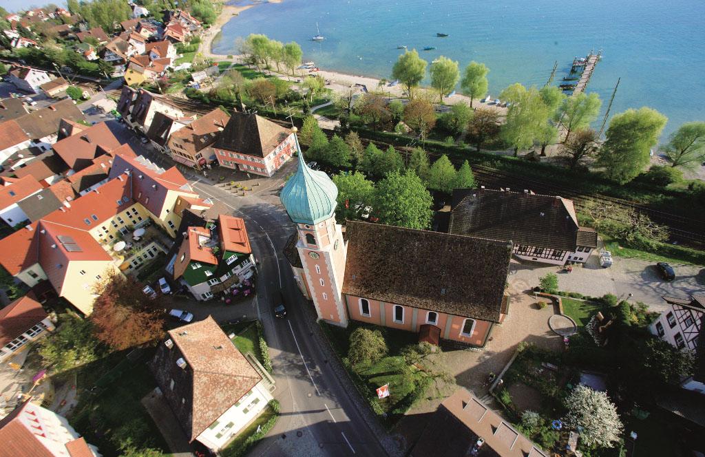 Allensbach von oben
