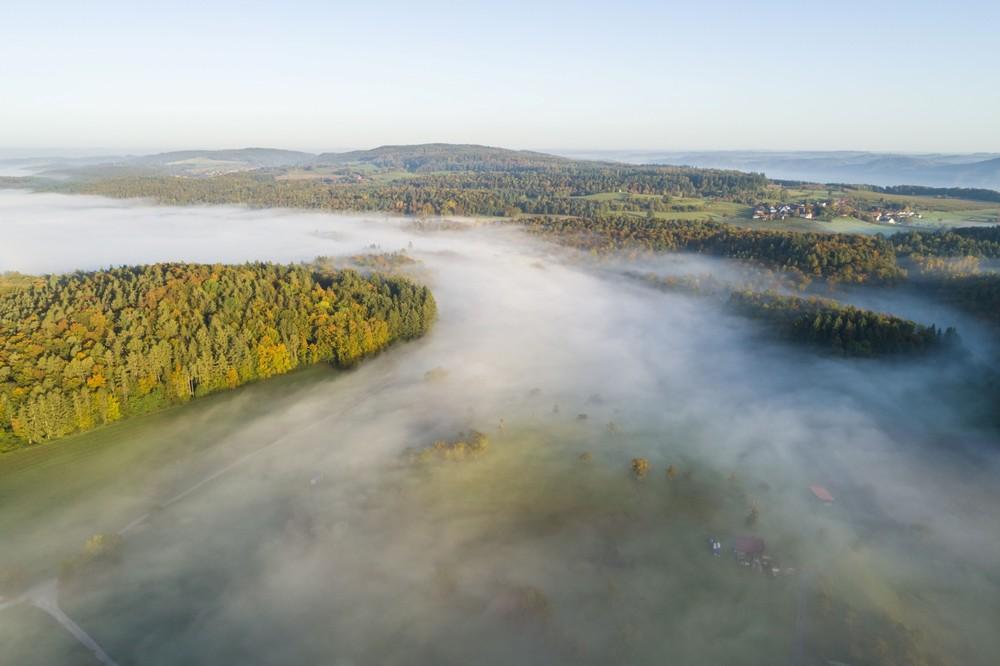 Bodanrück im Nebel mit Freudental