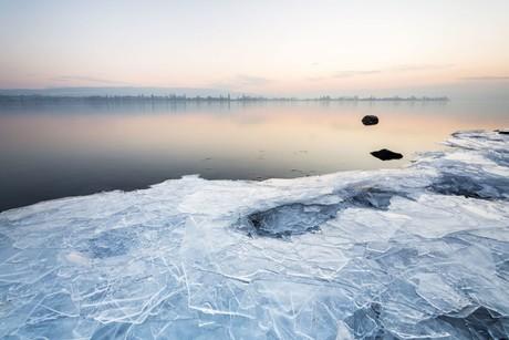 Allensbacher Eisplatten mit Reichenaublick