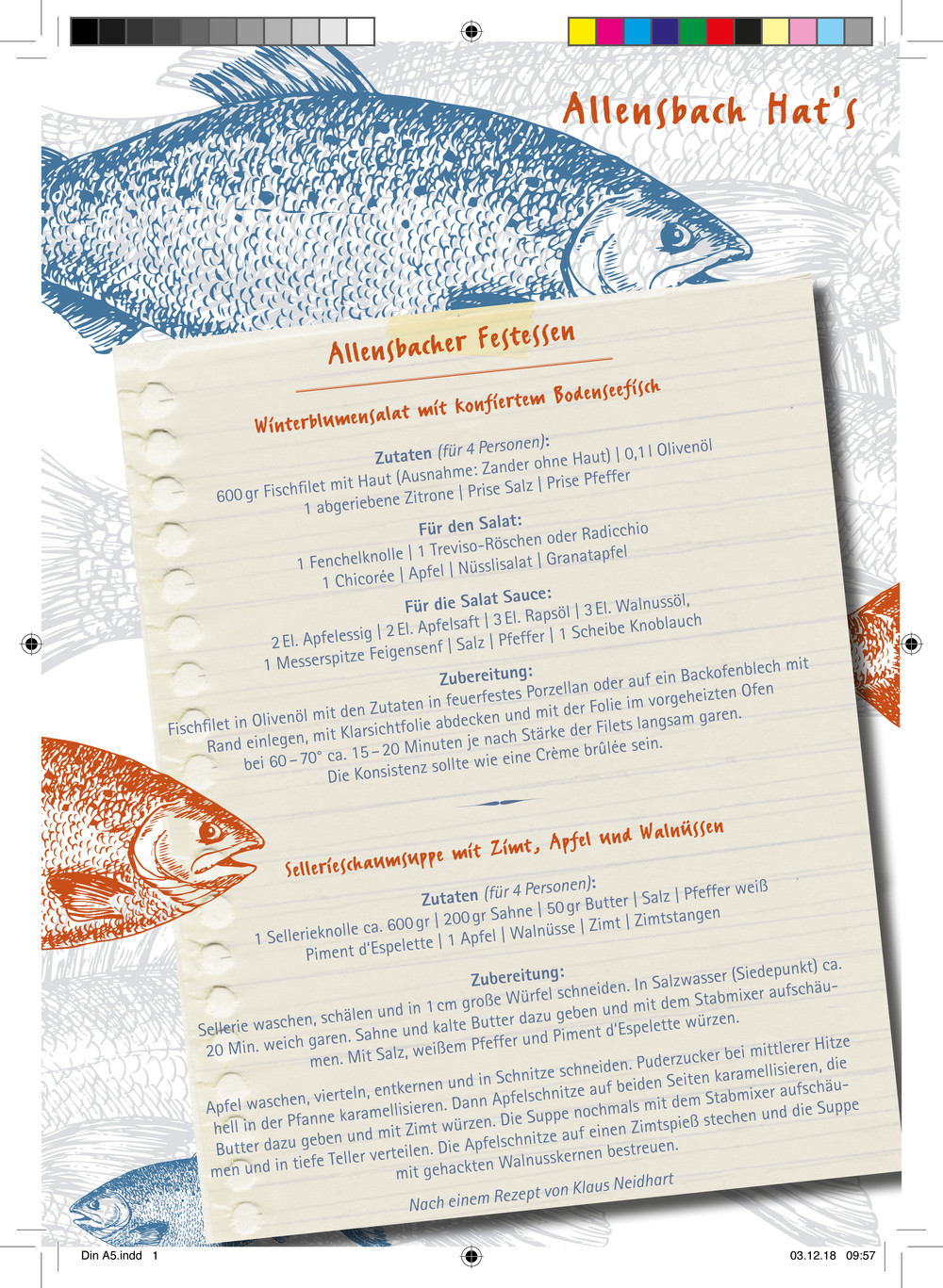 Allensbacher Rezeptkarte