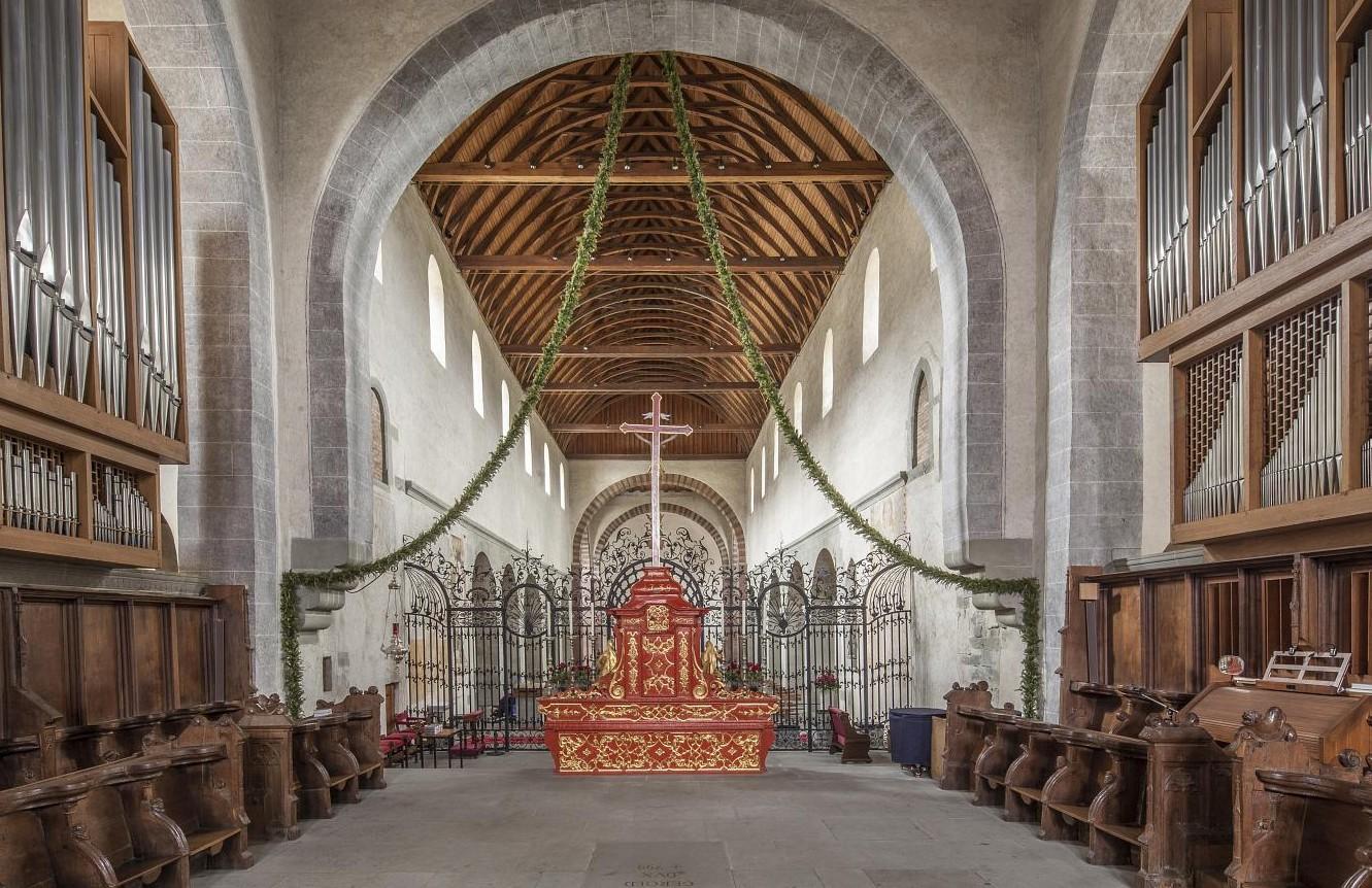 Münster St. Maria u. Markus innen, Reichenau