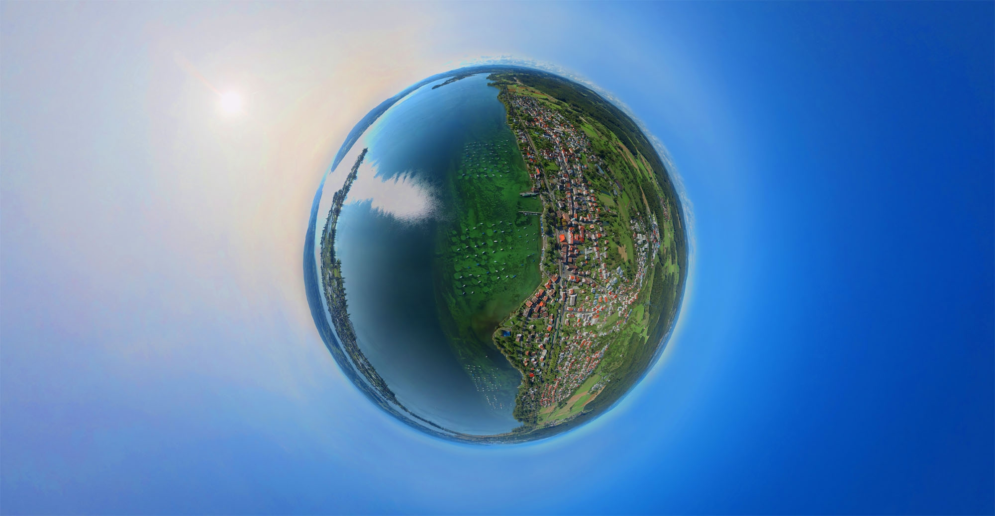 Allensbach-Weltkugel